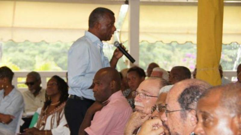 """Francis Carole, candidat du """"Gran Sanblé"""" sur la circonscription du Centre, prêt pour la bataille"""