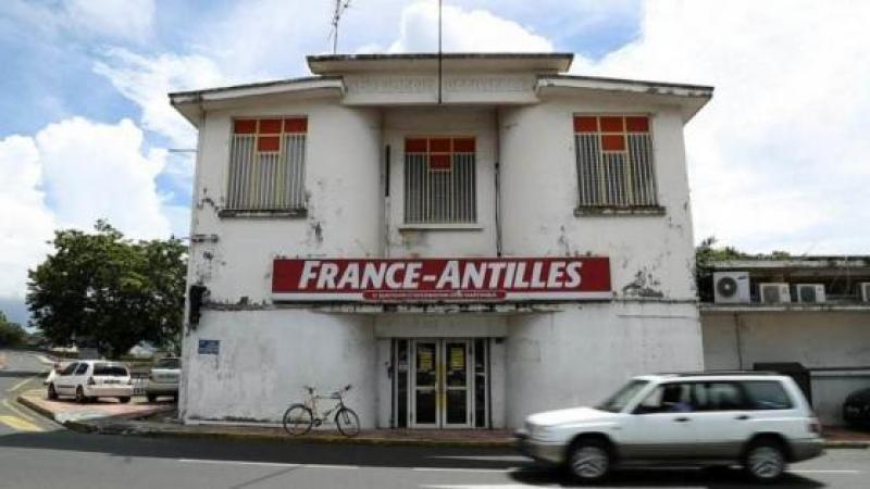 """Le quotidien """"France-Antilles"""" dans la tourmente"""