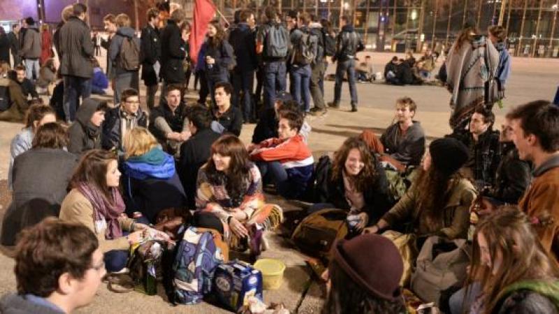 Francia: la izquierda, último bastión del capitalismo Nuit_debout