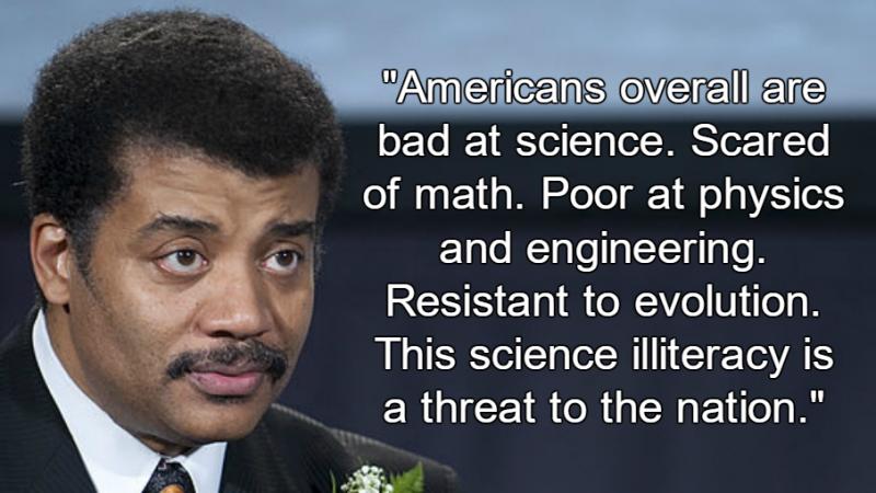 Neil deGrasse Tyson: Scientific Illiteracy Threatens U.S.