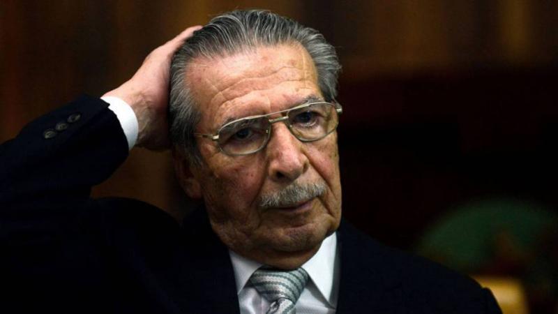 Muere impune el exdictador guatemalteco Efraín Ríos Montt