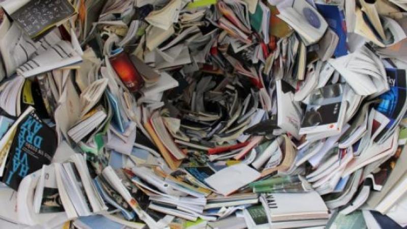 Edition : un livre sur quatre part au pilon, soit 142 millions de livres par an