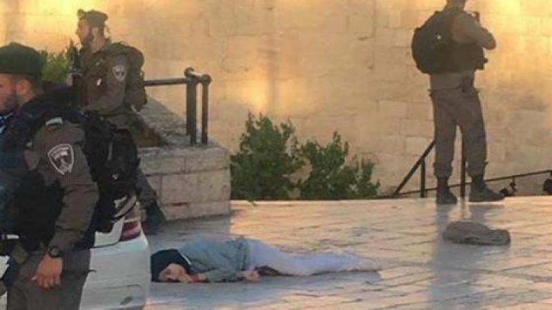 شهيدة برصاص الاحتلال في القدس المحتلة