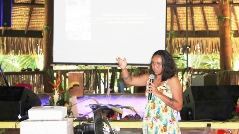 Docteur Vahine Ahuura Rurua a présenté sa thèse en reo ma'ohi