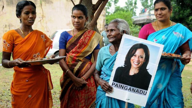 L'Inde célèbre la vice-présidente Kamala Harris