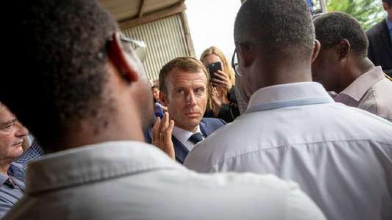 En Martinique, Macron qualifie la pollution au chlordécone de « scandale environnemental »