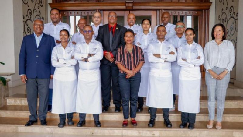 Maurice rafle 4 des 19 prix de la 5ème édition des Trophées de l'art culinaire du monde créole