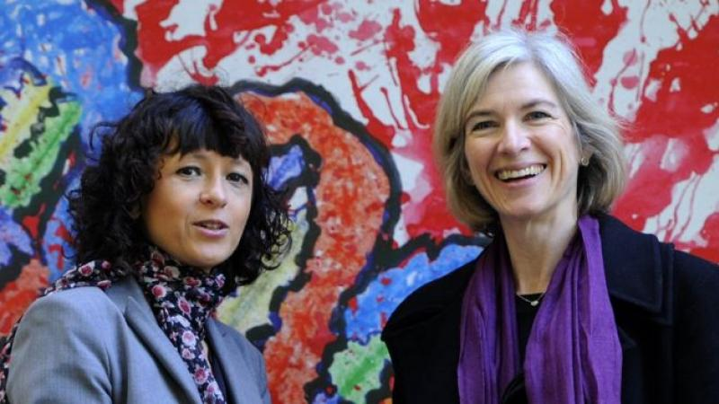Two women share chemistry Nobel in historic win for 'genetic scissors'