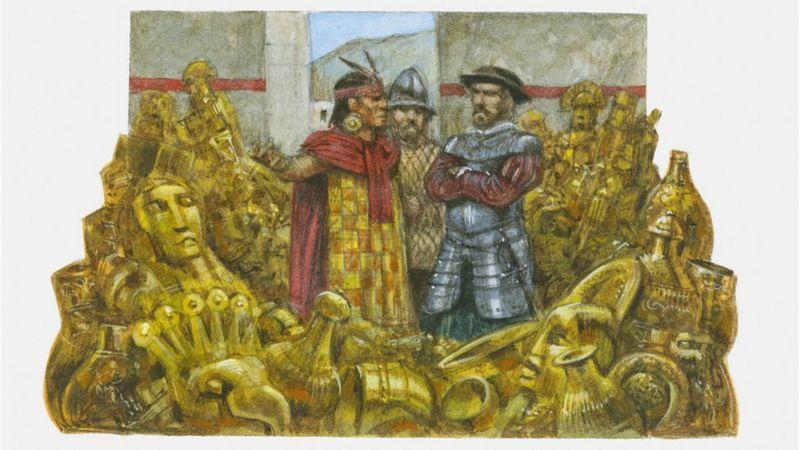 """""""Quiero cambiar la ficción que nos hemos creído de que el español malo conquistó al inca bueno"""""""