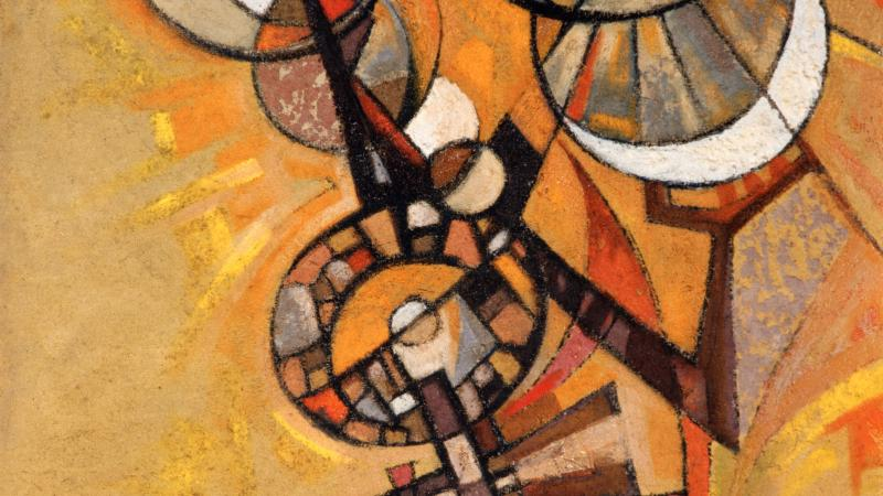 L'approche du sacré  chez  Dumas JEAN-JOSEPH (1934-2000)
