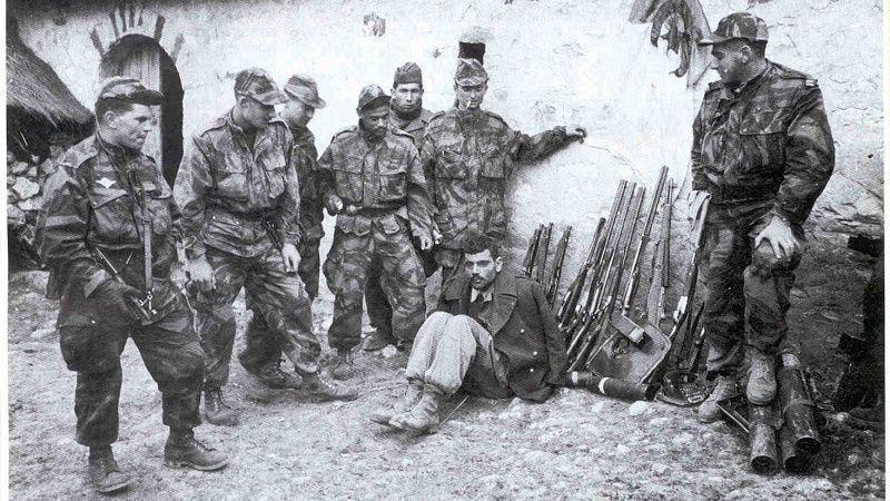 1é novanm 1954 : pep aljérien an lévé gawoulé kont la Fwans