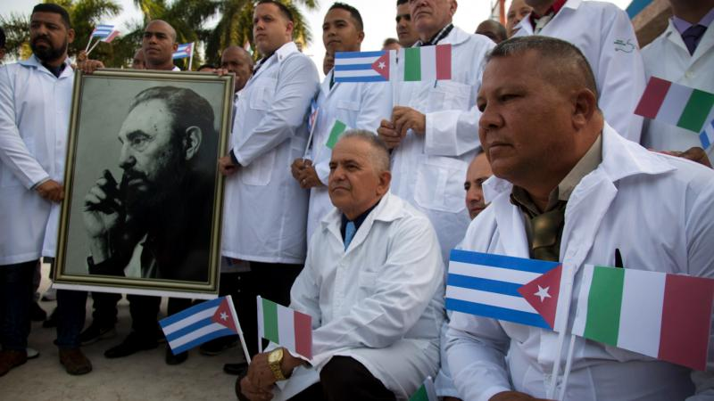 CUBA DONNE UNE LECON D'HUMANITE A L'OCCIDENT