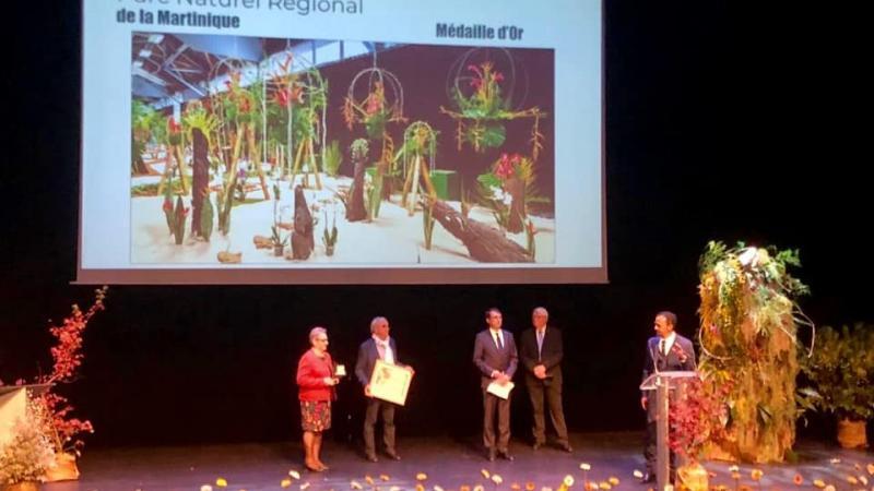 Cérémonie de remise des Prix aux FLORALIES INTERNATIONALES DE NANTES