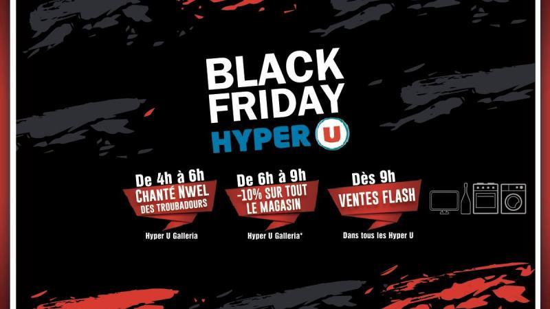 """""""Black Friday"""" : lè HYPER-U pa pè foutépanmal di djol Neg"""