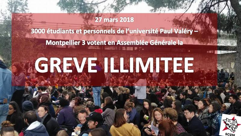 Hexagone : des dizaines d'université bloquées par les étudiants