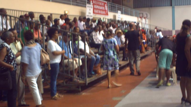 MIM (Mouvement Indépendantiste Martiniquais) : Alfred Marie-Jeanne fait une démonstration de force au Gros-Morne