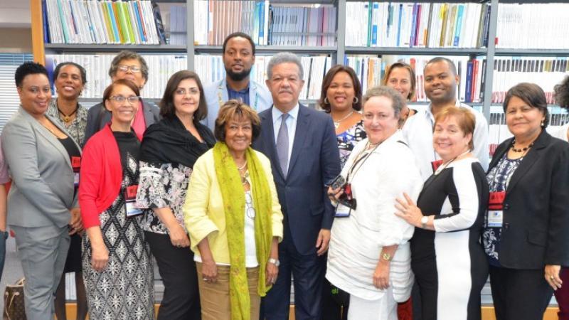 Leonel Fernández aboga por el fomento del hábito de la lectura en las escuelas