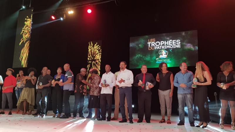 """Les lauréats des """"2è Trophées du Patrimoine"""" organisés par le Parc Naturel de Martinique"""