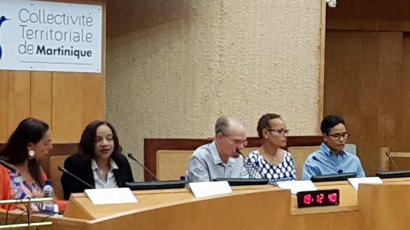 """La question de l'Université des Antilles exposée aux chefs de partis du """"Gran Sanblé"""""""
