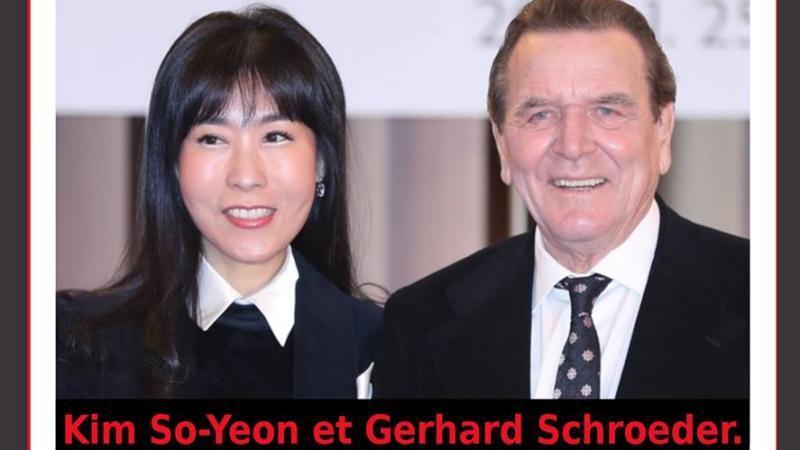 ALLEMAGNE UN CINQUIÈME MARIAGE POUR GERHARD SCHROEDER