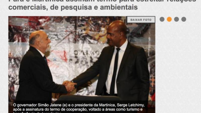 La très douteuse antenne brésilienne (Belem) de l'ex-Conseil régional de la Martinique