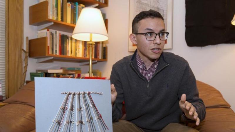 Harvard student helps crack mystery of Inca code