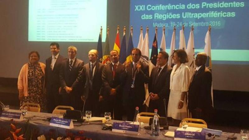 21è conférence des RUP (Régions Ultra-Périphériques) à Madère