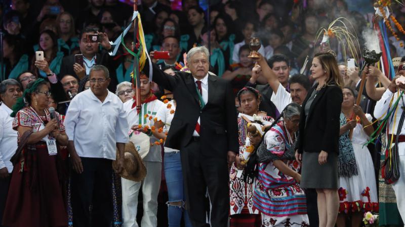 AMLO pedirá permiso a la Madre Tierra para construir el Tren Maya