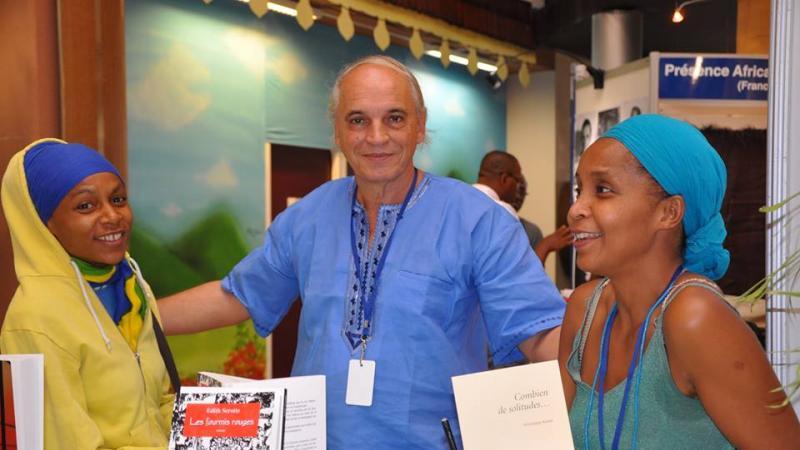 L'hommage de Cécile Bertin-Elisabeth, doyen de la Faculté des Lettres et Sciences humaines de l'Université des Antilles, à Alain Anselin