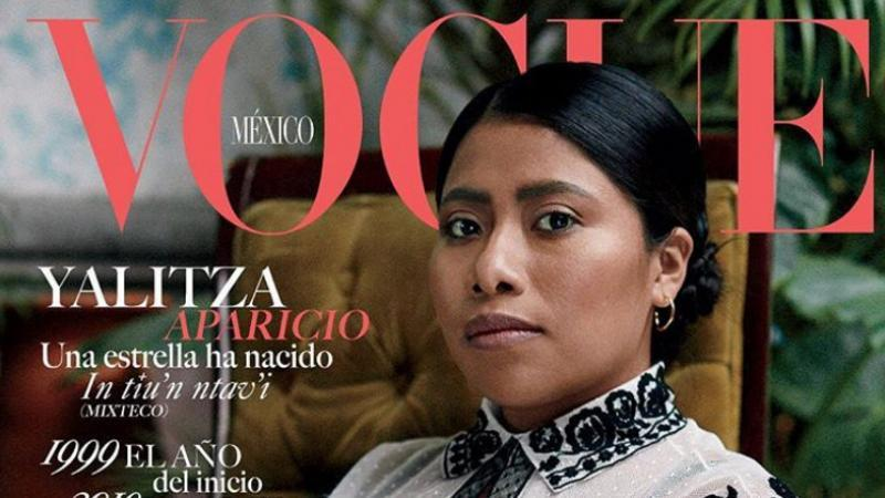 """Yalitza Aparicio est la première Amérindienne en Une de """"Vogue"""" au Mexique"""
