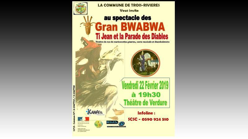 GRAN BWABWA – Ti Jean et La Parade des Diables
