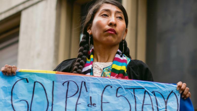 Bolivie : le coup d'État reposait sur un rapport bidon..