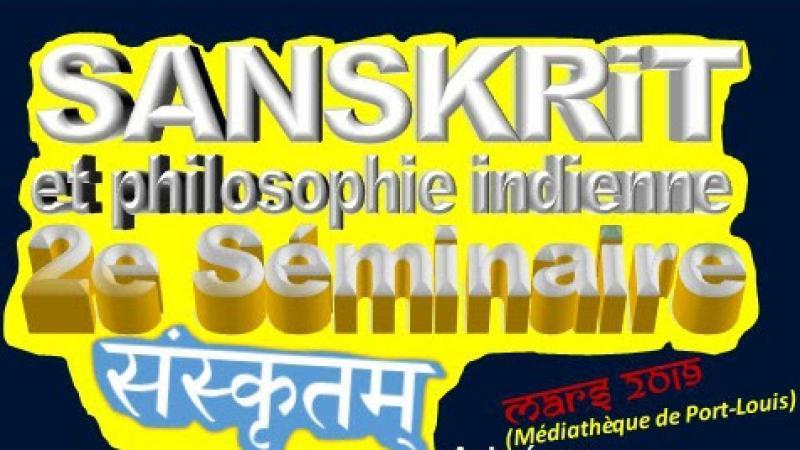 Séminaire sanskrit et philosophie indienne