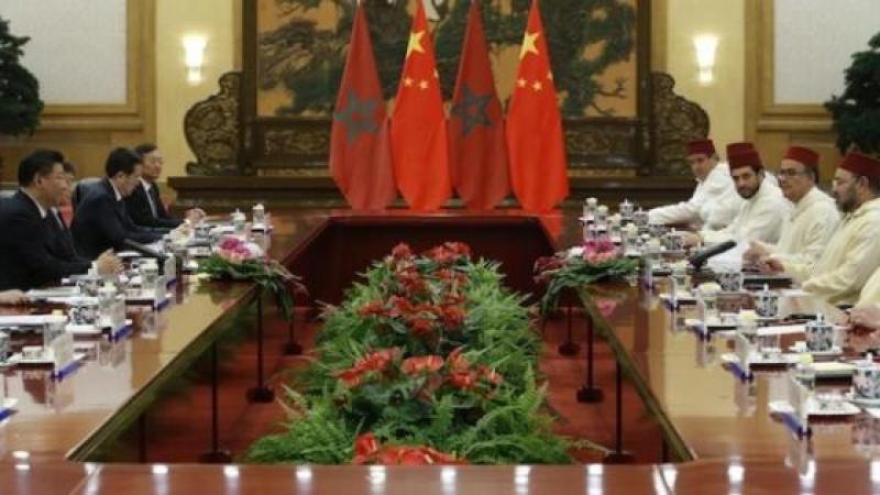 POURQUOI MOHAMMED VI ET LA DELEGATION DU MAROC PORTENT DES DJELLABAS EN CHINE
