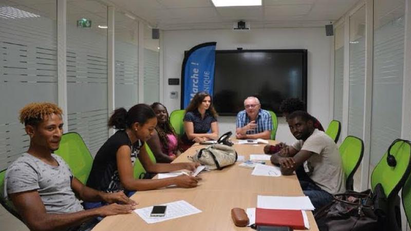 Rencontre du Collectif des Etudiants de l'Université Antilles, 06 Avril 2018