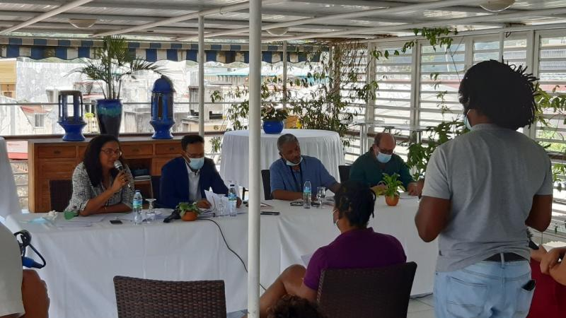 """Conférence de presse de l'association """"Ecologie Urbaine"""" et de ses avocats sur le dossier du chlordécone (1è partie)"""