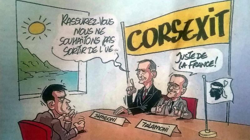 PKLS : MACRON AFFICHE SON MEPRIS POUR LE PEUPLE CORSE