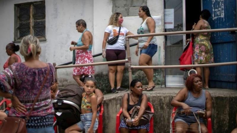 Brésil: dans la favela, la vie encore plus dure avec le coronavirus