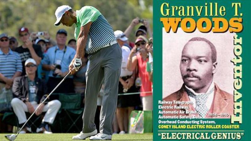 Vous connaissez Tiger WOODS, mais pas Granville T. WOODS...