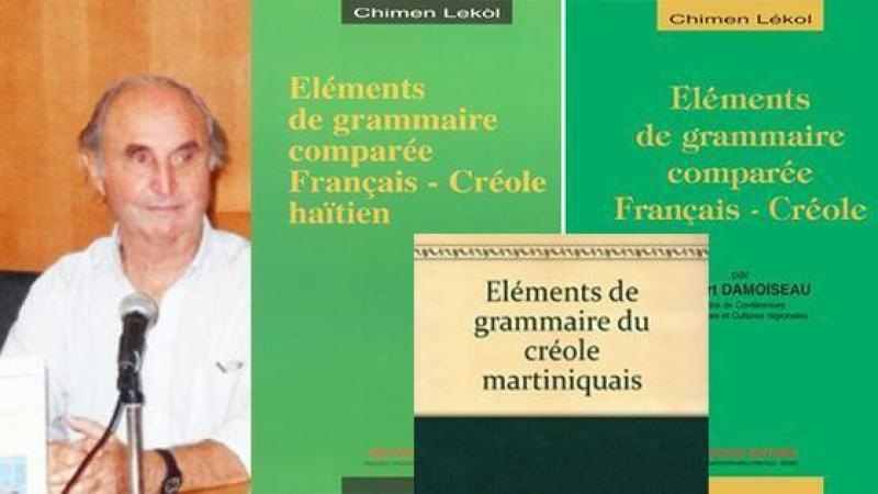 Robert Damoiseau rend hommage à Jean Bernabé