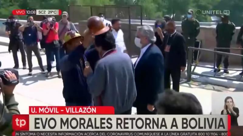 Evo Morales déviré lakay-li !