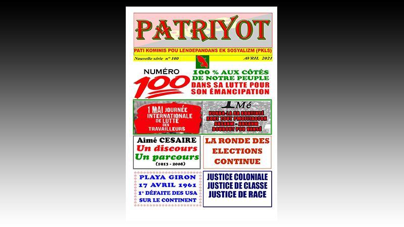Patriyot #100 Avril 2021