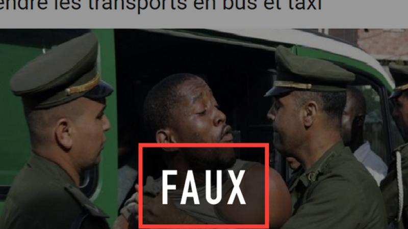 Non, l'Algérie n'a pas interdit aux Noirs l'accès aux bus et aux taxis