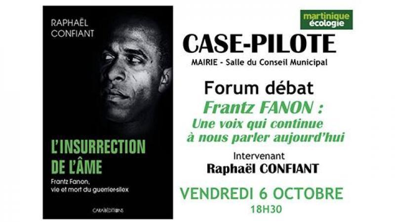"""Martinique-Ecologie"" ka envité zot adan an dé-mo kozé épi Raphaël Confiant asou liv-li a anlè Frantz Fanon"