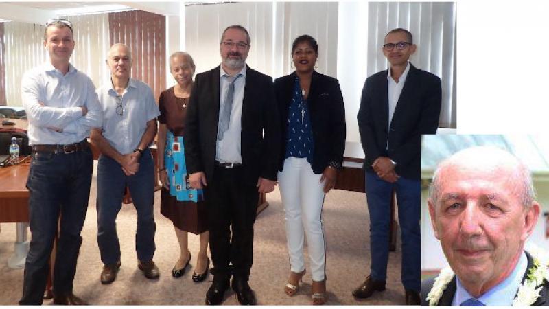 Roman FERRY soutient une thèse en science sur le Campus Schœlcher