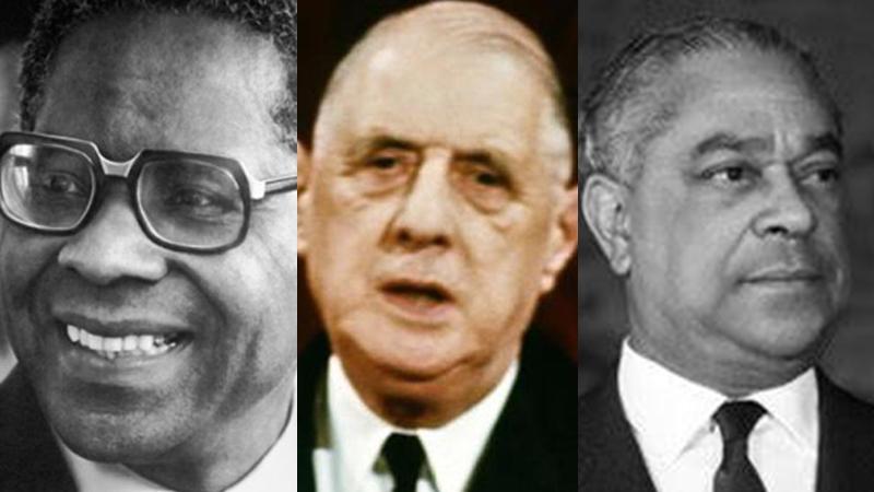 Le département : de Gaulle, Monnerville et Césaire
