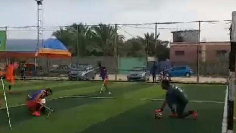 à Gaza, des victimes du conflit montent une équipe de foot pour amputés