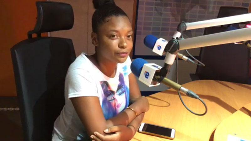 L'étudiante Wendy Zebo (Pôle Guadeloupe de l'Université des Antilles) s'explique sur RCI