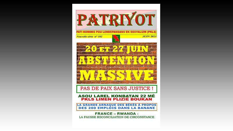 Patriyot #102 Juin 2021