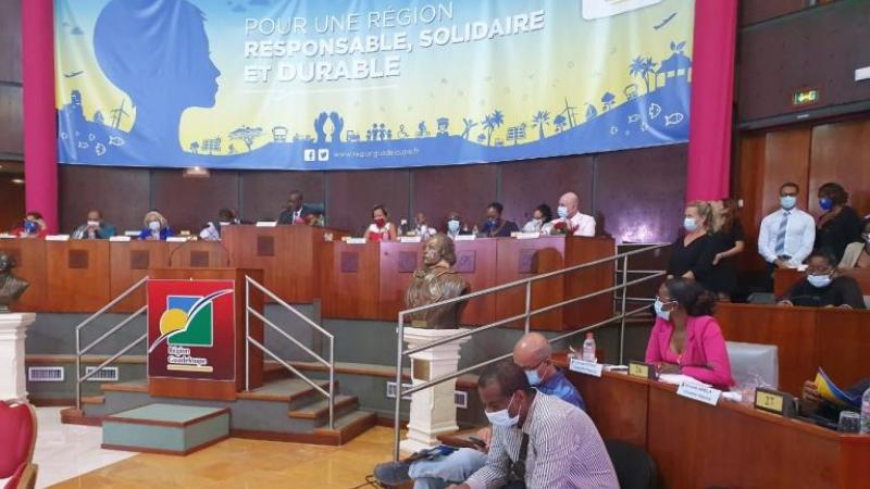 La région Guadeloupe  face au défi d'un plan de relance de 500 millions d'euros qui n'interroge pas l'avenir !